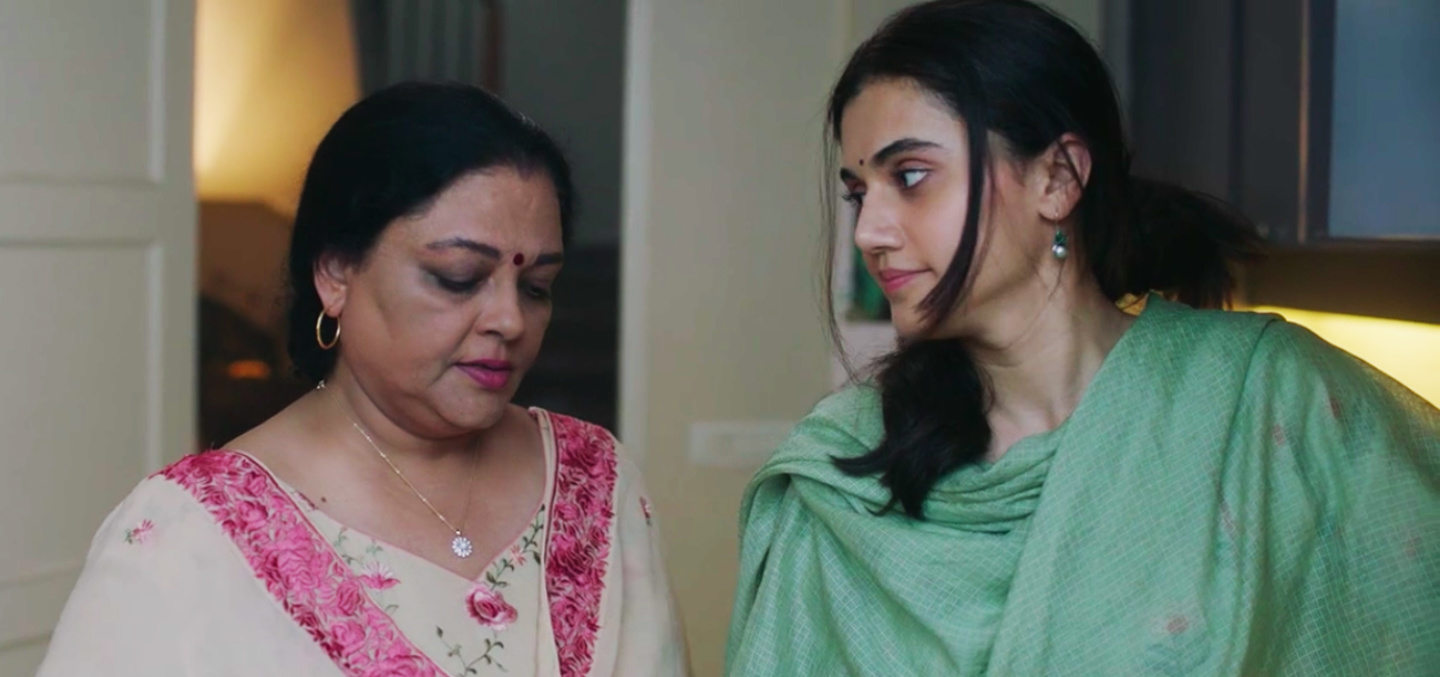 thappad taapsee pannu mother-in-law scene kitchen domestic violence film