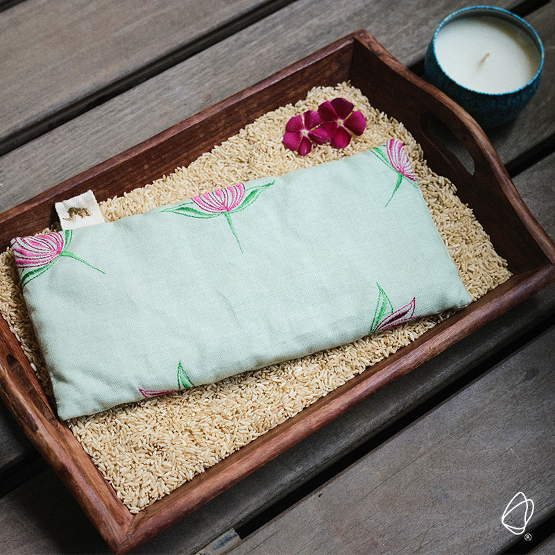 rice grain heating pad sustainable hot compress sustainable home products