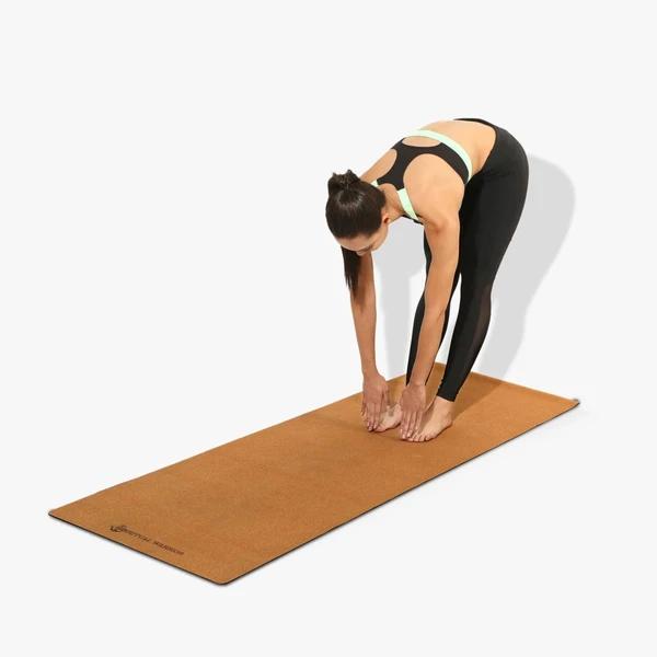 eco friendly yoga mat sustainable cork mat