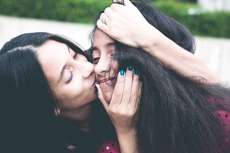 mother daughter parenting making amends