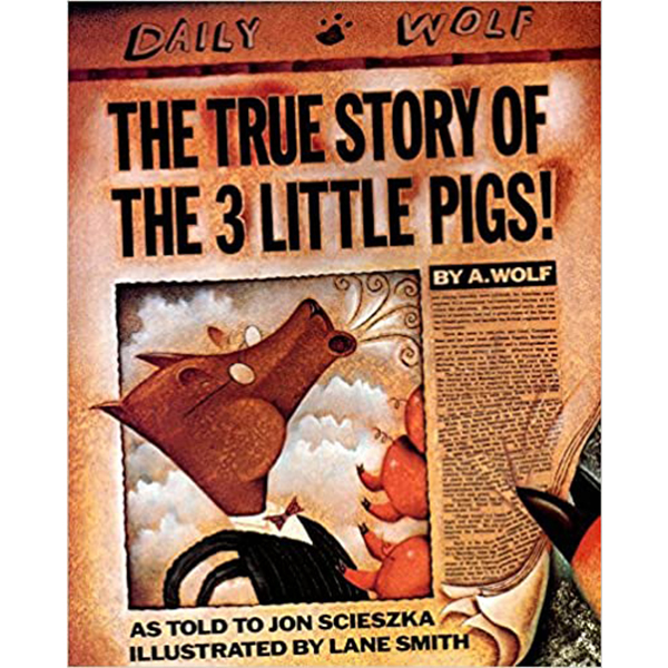 The true story of the three little pigs reading list for children