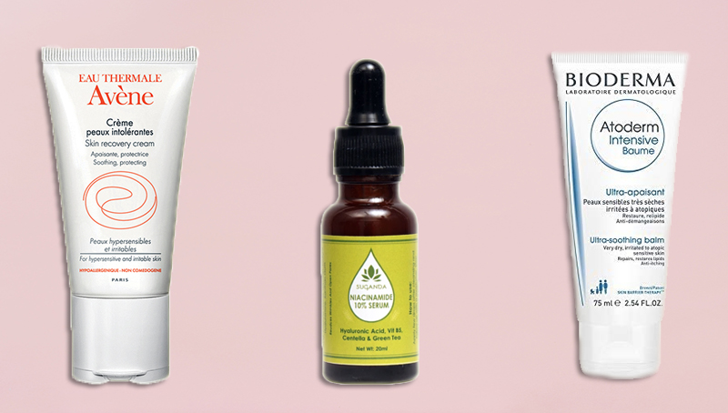 products to repair damaged skin barrier