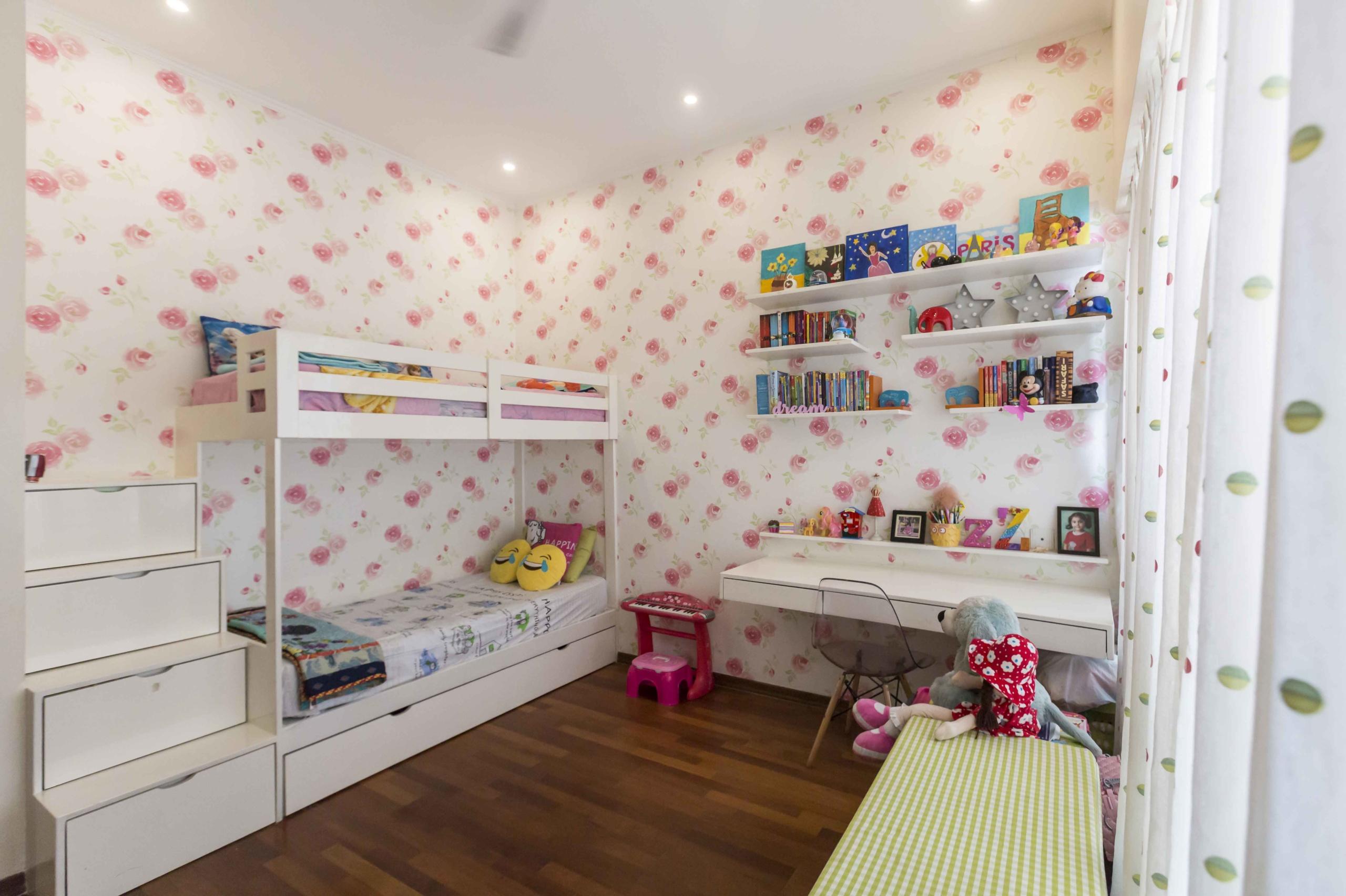 Quirk Studio kid's room storage