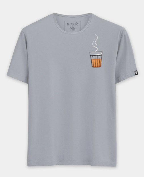 cutting chai T-shirt Tweak India