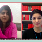 Malala Yousafzai and Twinkle Khanna on using your voice to help others