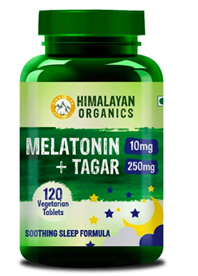 stress relief products - melatonin supplement