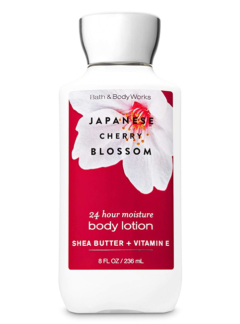 bath and body works japanese cherry blossom body lotion india