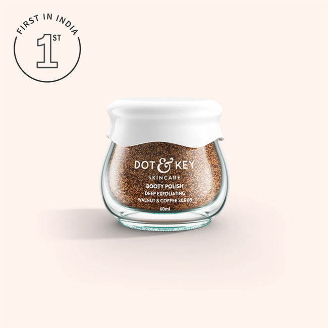 dot and key skincare booty polish body scrub