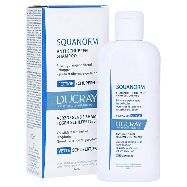 squanorm ducray shampoo lockdown beauty regime