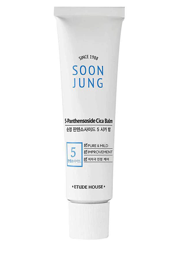 soon jung cica balm soothing cream etude house