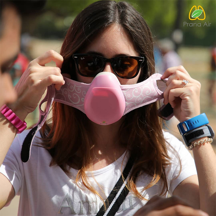prana air anti pollution mask