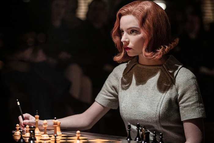 the queens gambit chess netflix still