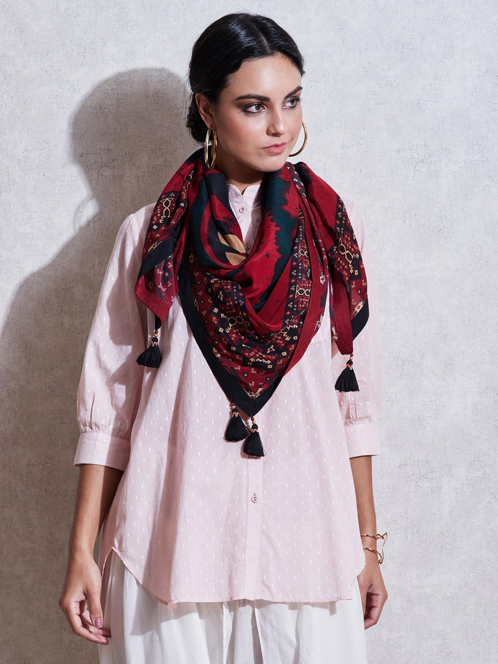 scarf winter wardrobe