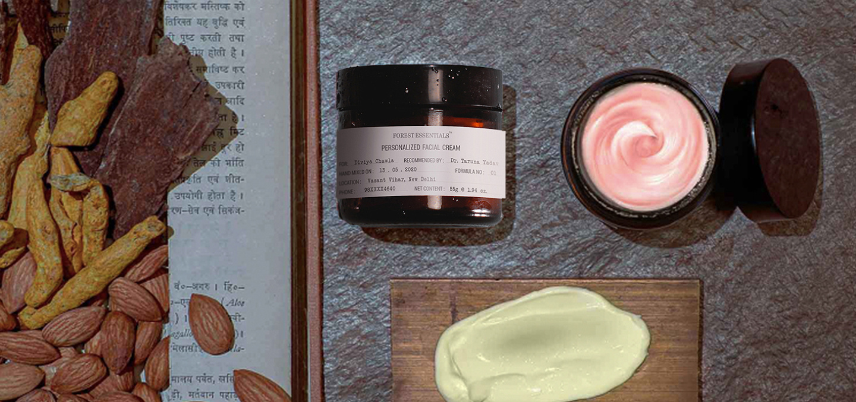 forest essentials custom cream
