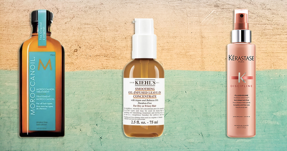leave in conditioners, hair protection spray