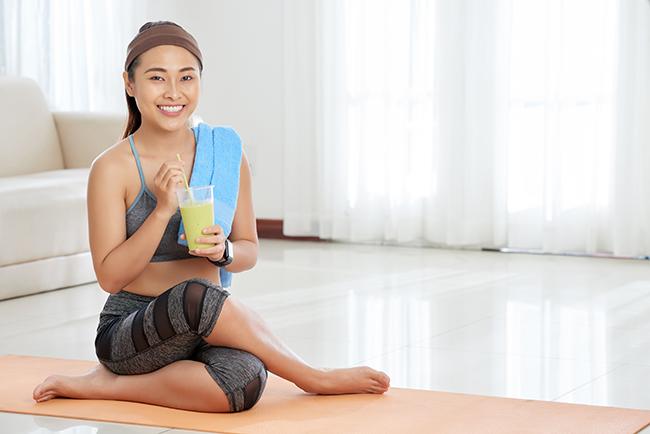 detox juice cleanse workout