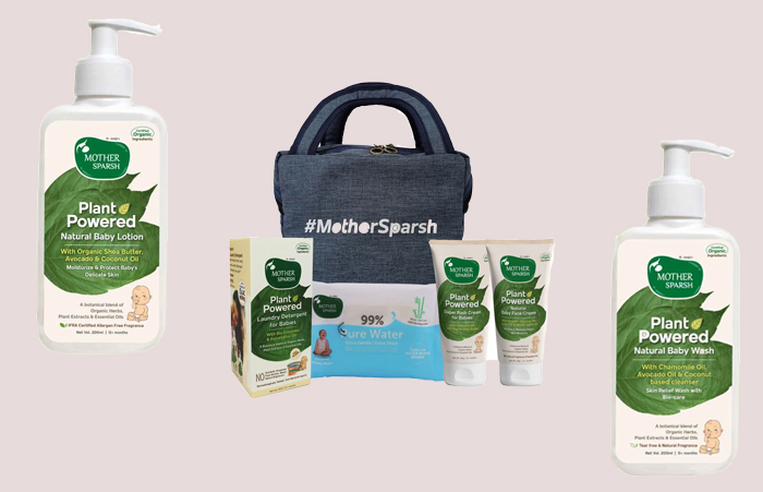 mother sparsh babycare skincare