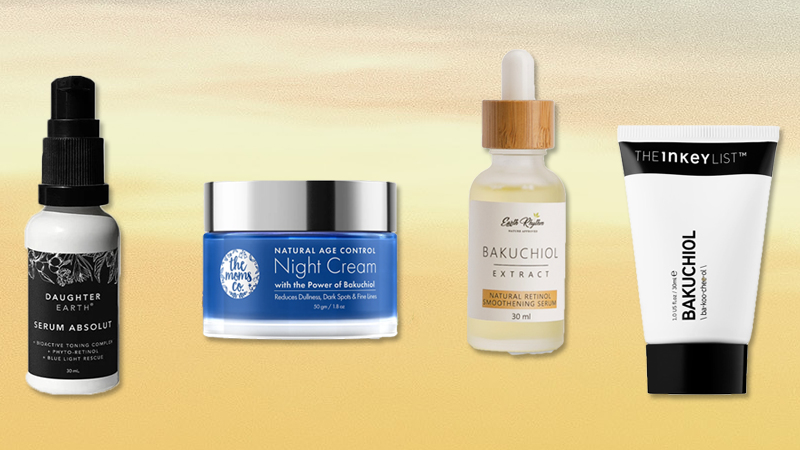 trending skincare ingredients Bakuchiol products india