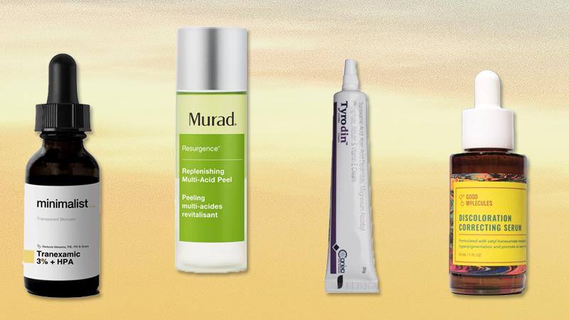 trending skincare ingredients Tranexamic Acid India serum cream minimalist Murad acid peel good molecules discoloration serum