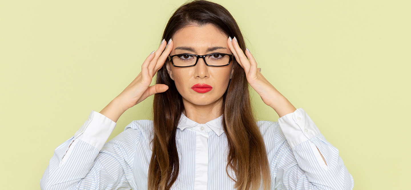 woman stressed out get promoted work culture