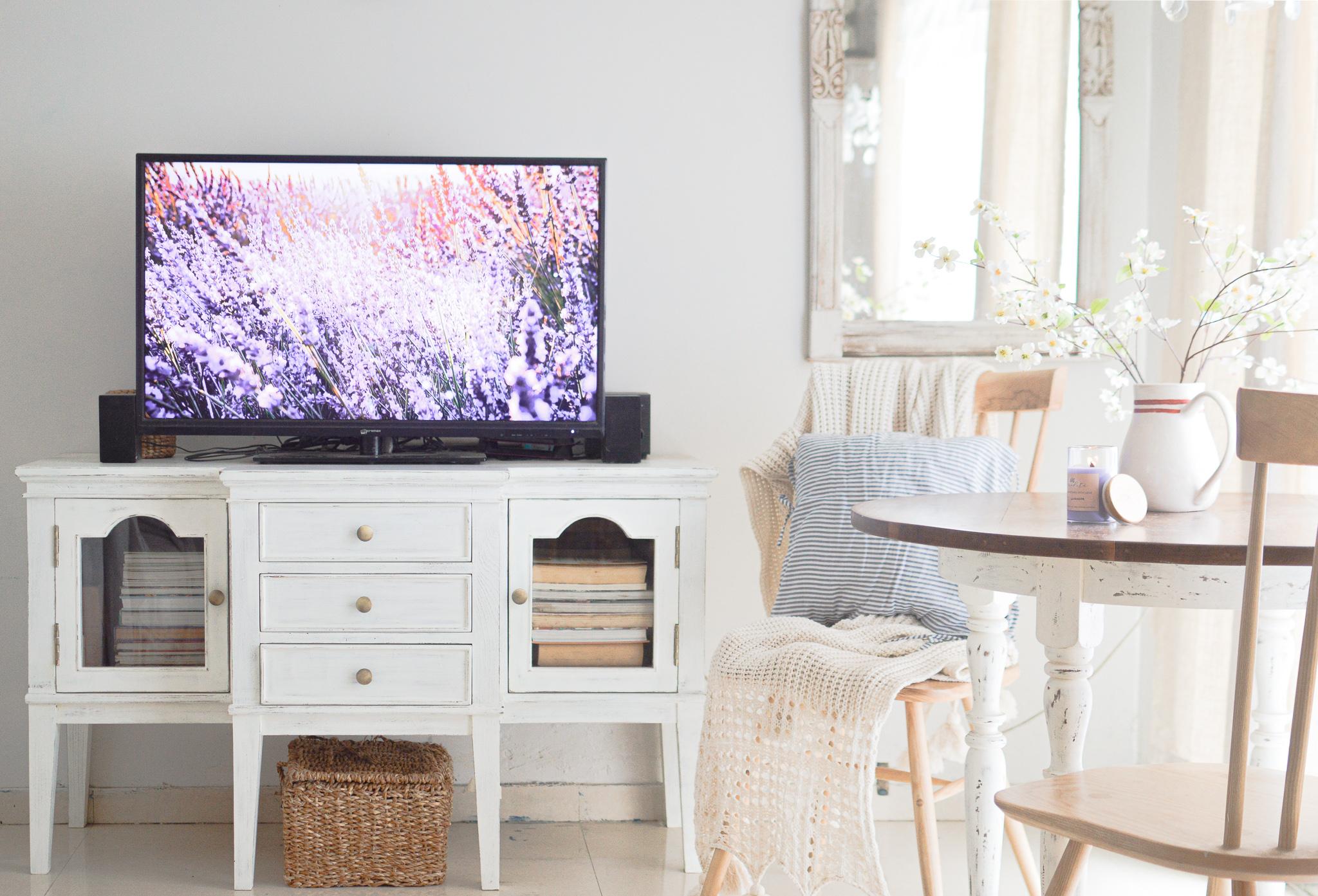 TV rented apartment Spacelift