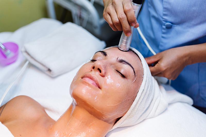 skincare procedures treatments facial dermabrasion microdermabrasion spa