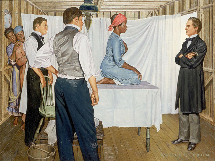 j marion sims painting