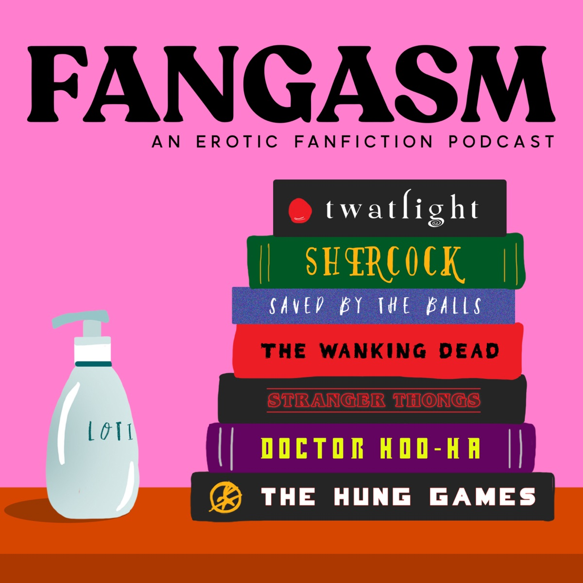 fangasm podcasts for every mood