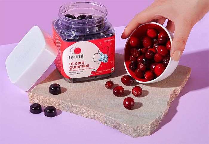 nyumi ut care gummies cranberry supplements utis