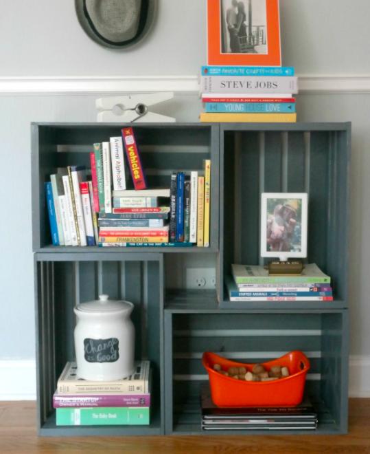 bookshelf DIY home decor