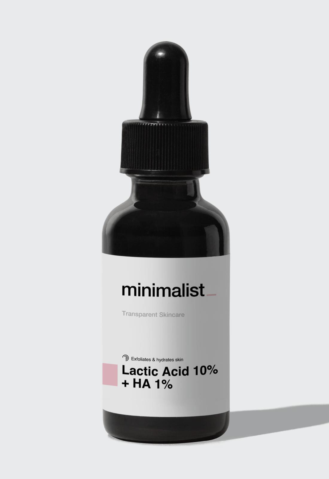 exfoliator minimalist oily skin