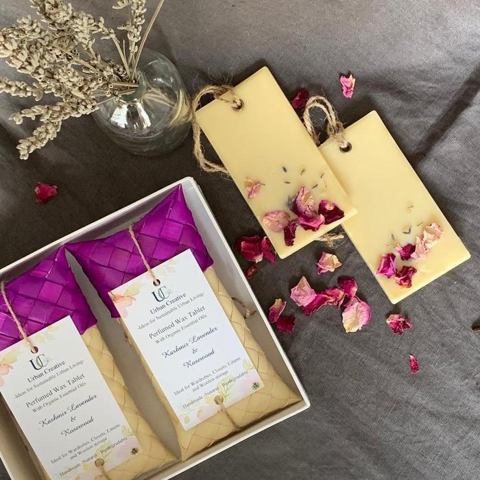 perfumed wax tablets for home in monsoons