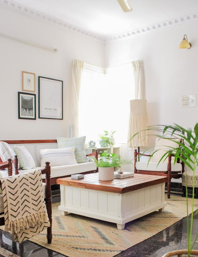 DIY decor refurbished couch