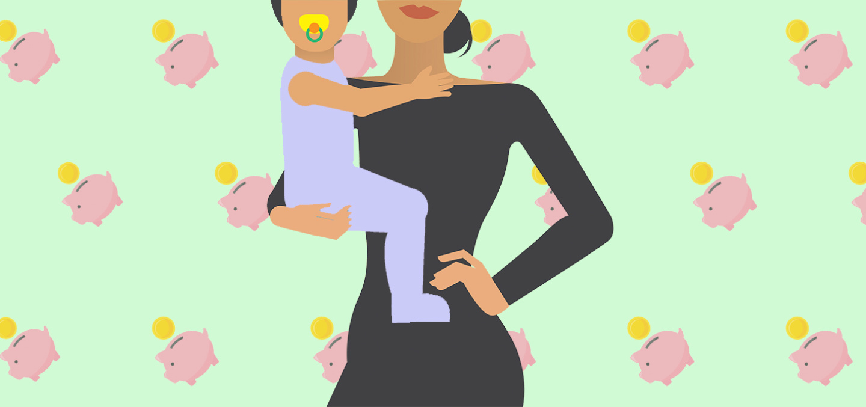 single moms saving money finances
