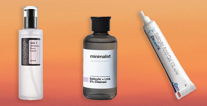 pore care salicylic acid serum cream india minimalist cosrx aha power liquid zit care gel