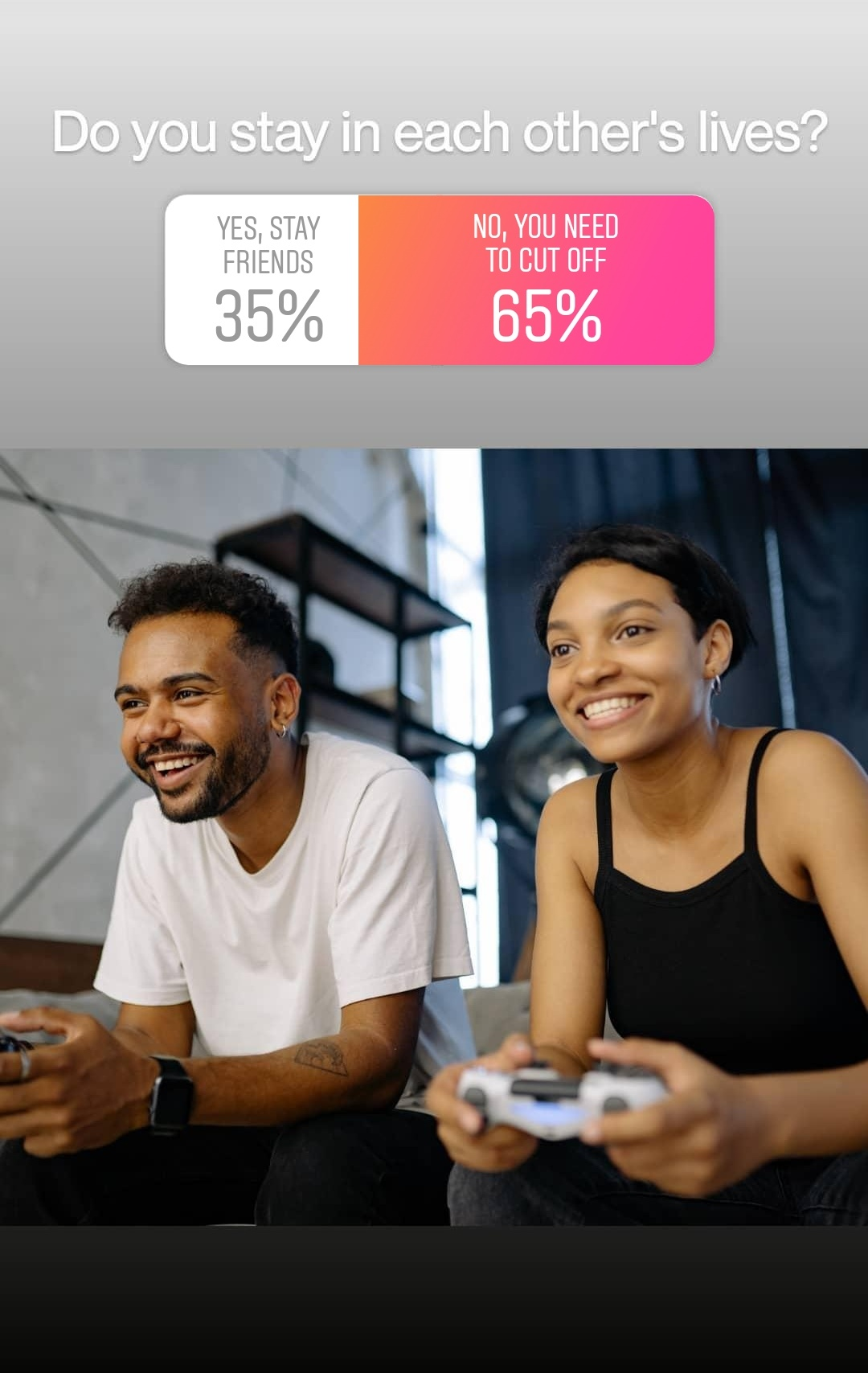 staying friends with an ex poll right way to break up
