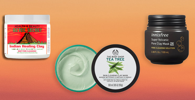 best clay masks aztec healing body shop tea tree innisfree volcano pore care